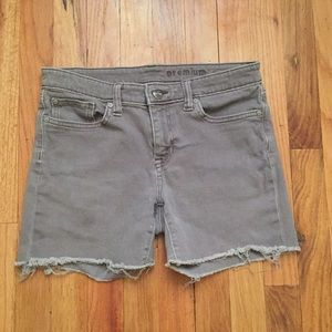 Gap Cutoff Shorts
