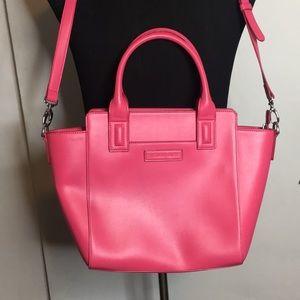 Vera Bradley Pink leather Satchel bag