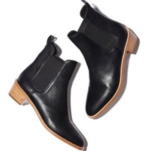 NWOT Loeffler Randall // Carmen Leather Ankle Boot