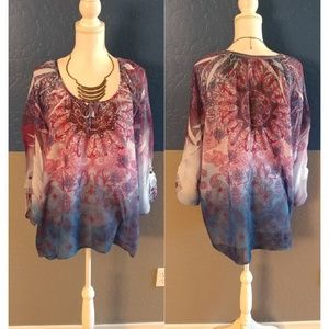Westbound Woman Top Plus Size 2X