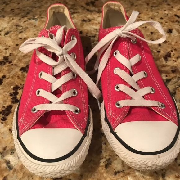7ef01db1d3ef4c Converse Other - Converse All star girls size 3 hot pink excellent!