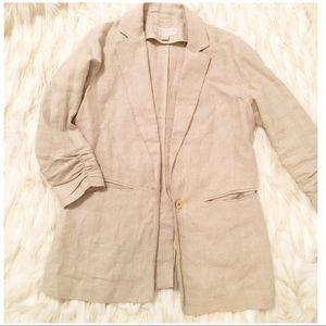 MICHAEL KORS linen sports coat/blazer