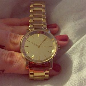 Dkny brand new gold watch