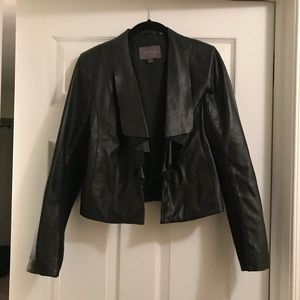 Cole Haan Leather Jacket Medium