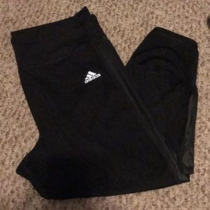 Adidas Boston Marathon 2017 cropped leggings