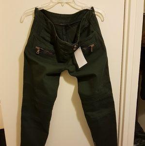 Jeans Biker Balmain! Size France 42! Size M-L