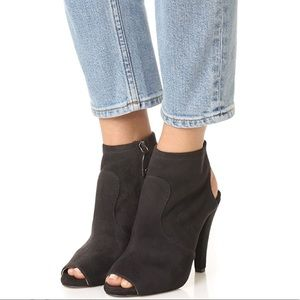 Open Toe Stretchy Booties