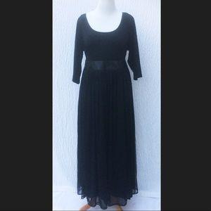 New Eshakti Fit & Flare Maxi Cocktail Dress 26W
