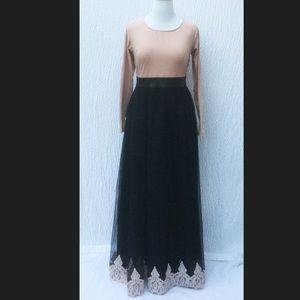 New Eshakti Fit Flare Maxi Cocktail Dress 16W Tall