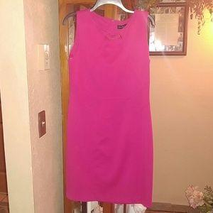 (6A) Ivank Trump Pink Knit Dress