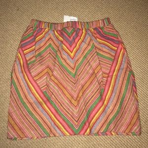 Urban outfitters multicolor skirt