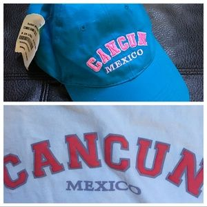 NEW! CANCUN Lrg Baseball Hat & Shirt duo