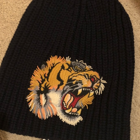 Gucci Other - Gucci tiger beanie 13c7b95d772