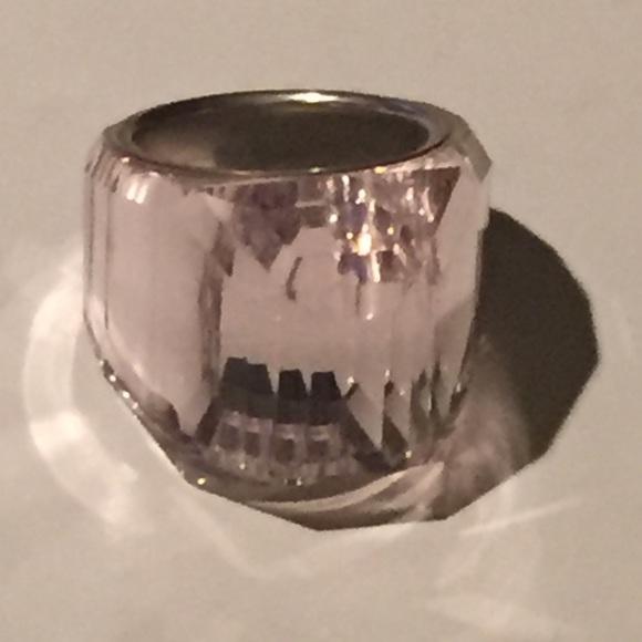 bfcde622984b Swarovski nirvana pink crystal around silver. M 5a2b3d80f739bc0a4f04a761