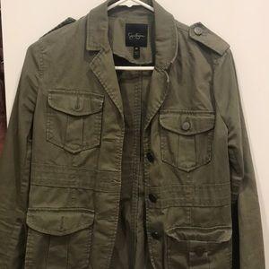 Army jacket.