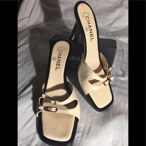 Chanel Slide Shoes/Mules