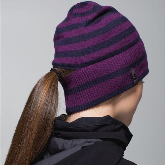 e4bd11b24b4 lululemon athletica Accessories - Lululemon 🍋 Vite Vite Run Toque Merino  Wool Hat