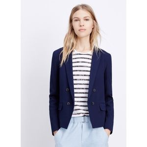 Vince Navy Blue Double Breasted Blazer