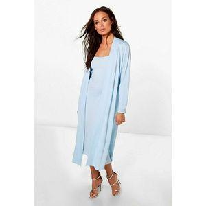 Casandra Bandeau Dress & Duster Co-Ord SKY BLUE