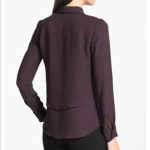 540532438bb Theory Tops | Rosita Layered Silk Blouse | Poshmark