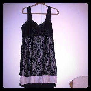 American Rag 2X layered dress/Top