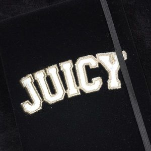 ( authentic ) Juicy Couture velvet notebook