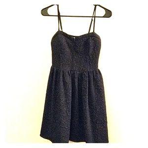 Bar III Black Mini Dress