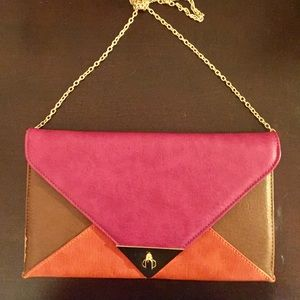 Handbags - Color block Crossbody
