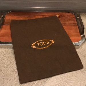 Tod's shoe bag