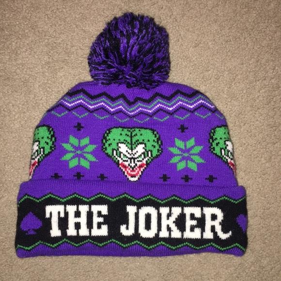 7985c6d4fd0 Hot Topic Accessories - The Joker Beanie Hat