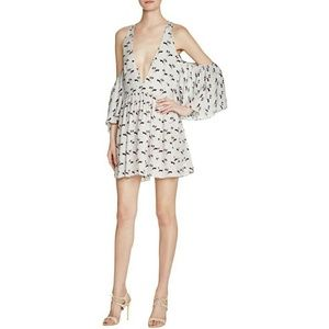 Rebecca Minkoff Small Robbie Dress Cold Shoulder