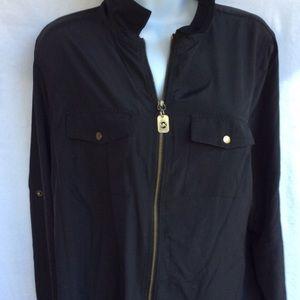 N.worn Michael Kors dress shirt.
