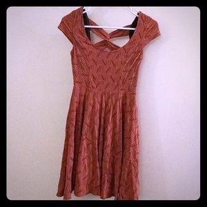 Bar III Textured Mini Dress