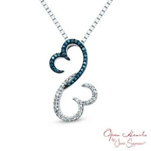 Open hearts by jane seymour jewelry open hearts jane seymour open hearts by jane seymour jewelry open hearts jane seymour diamond necklace aloadofball Images