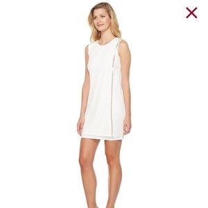 Jessica Simpson white wrap dress