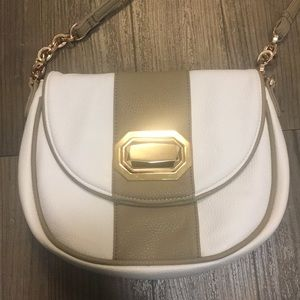 Deux Lux Crossbody bag with rose gold hardware