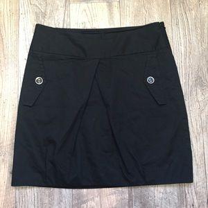Gap Women's Black Classic Pleated Front Skirt 4