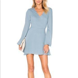 Lovers + Friends Shimmy Dress in Dusty Blue *NEW*