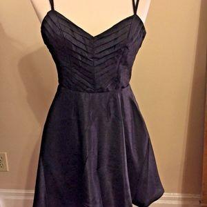 Keepsake Flowy Black Cocktail NYE Party Dress
