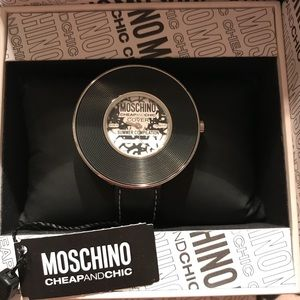 Moschino watch 100% authentic