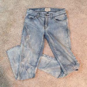 Current/ Elliott distressed jeans
