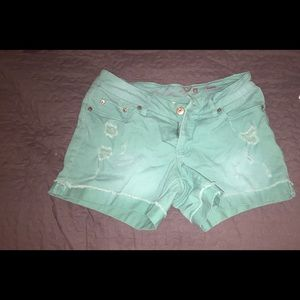 Faded Glory Jean Shorts 6  EUC