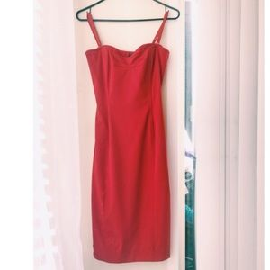 Amazing Red Dress by Mango ! Never worn size 4
