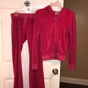 Juicy couture jump suit size small