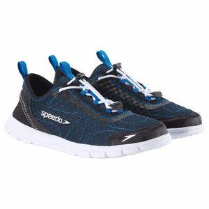Speedo Mens Hybrid Watercross Shoes Navy White 9