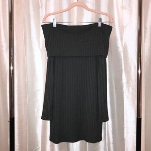 URBAN OUTFITTERS OFF-THE-SHOULDER SWEATER DRESS