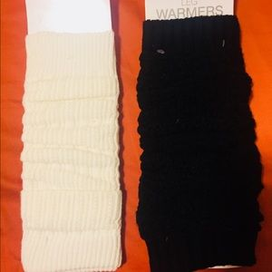 Shoes - 2 pair of Boot socks/Leg warmers!