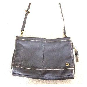 💋💕The sak brown leather crossbody purse cute💕💋