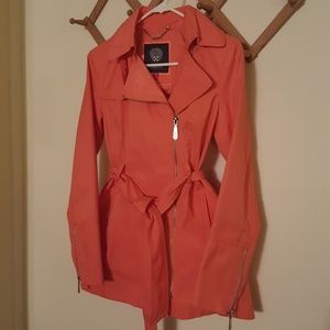 Vince Camuto short trench jacket