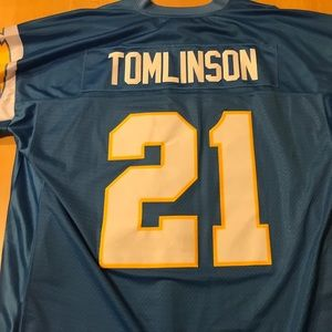 LaDainian Tomlinson SD Chargers stitched jersey